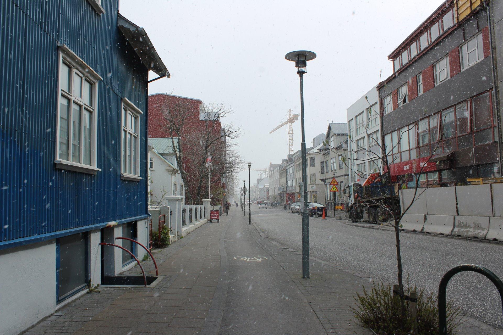 Islandské počasí v celé své kráse