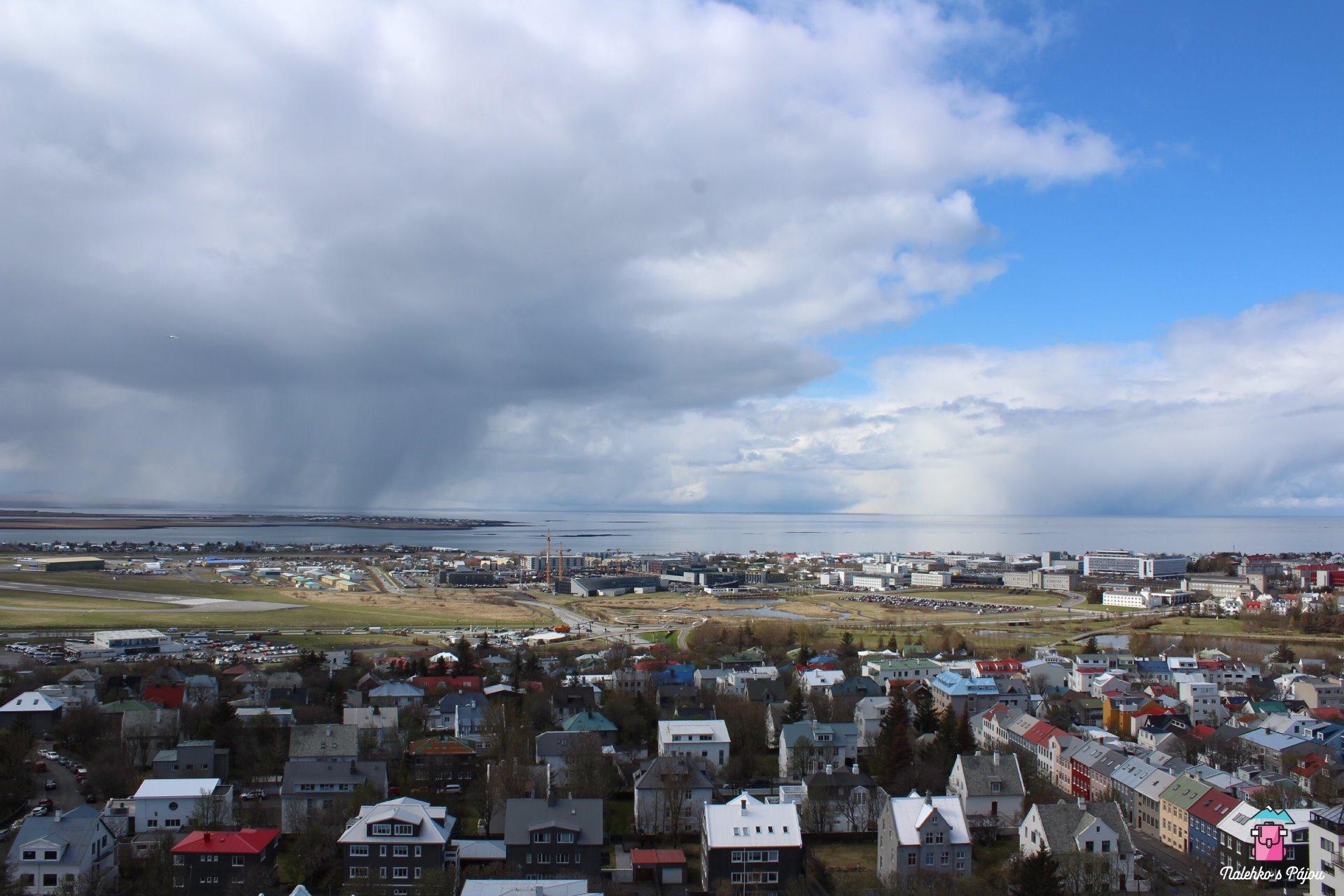 Malá ukázka islandského počasí