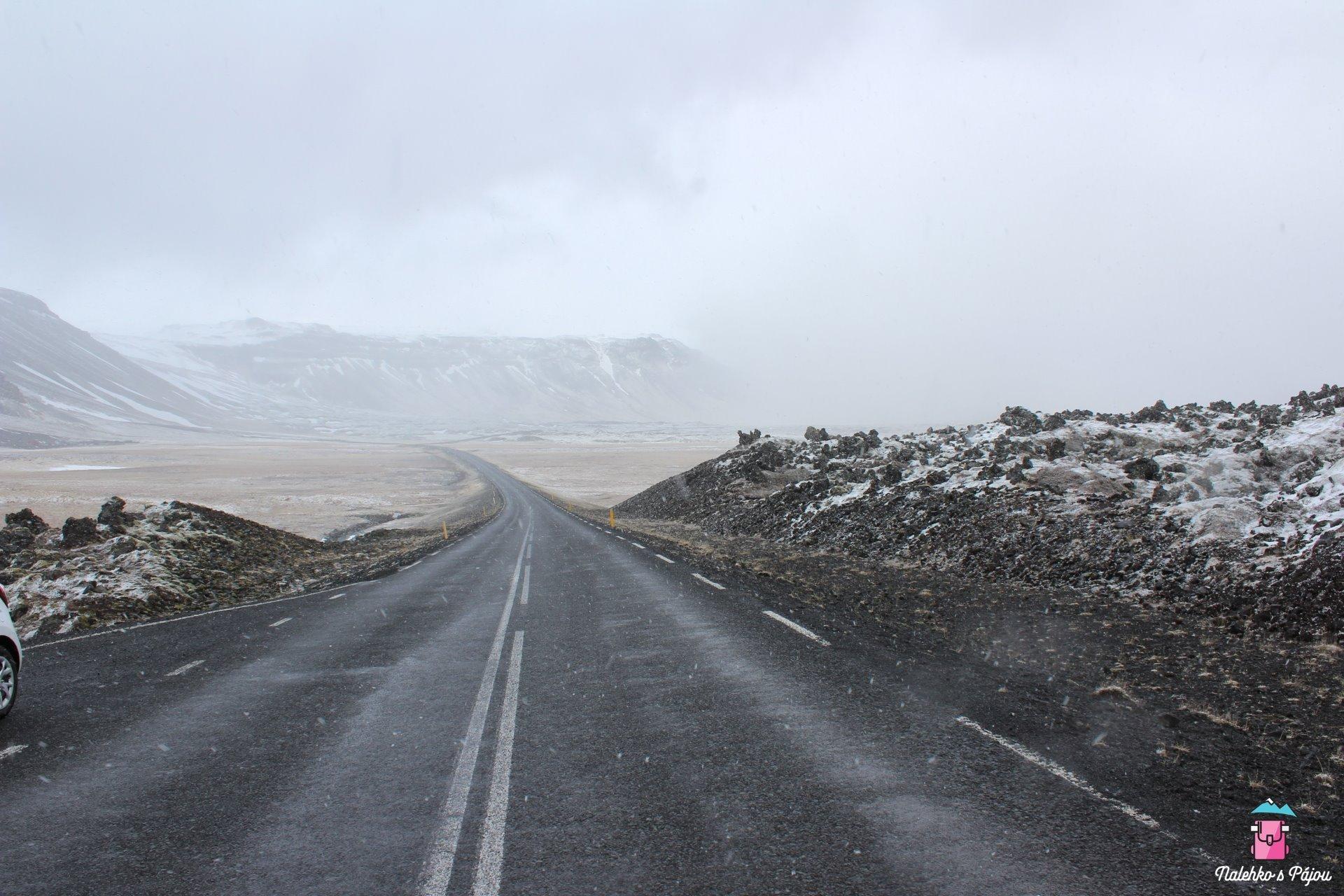 Cesta na maják byla opět přehlídkou počasí