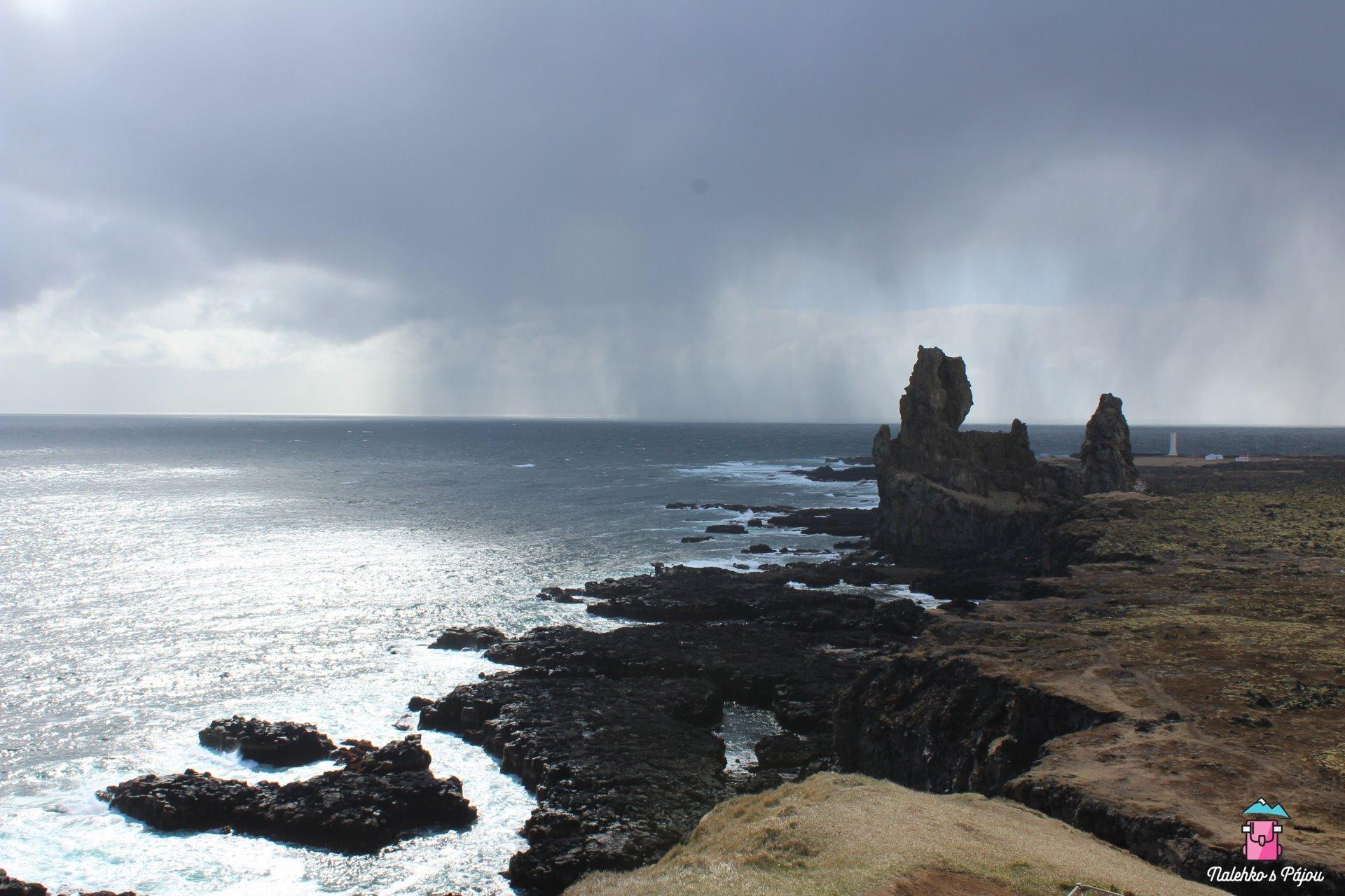Rocky coast of Malarrif, místo jako z pána prstenů