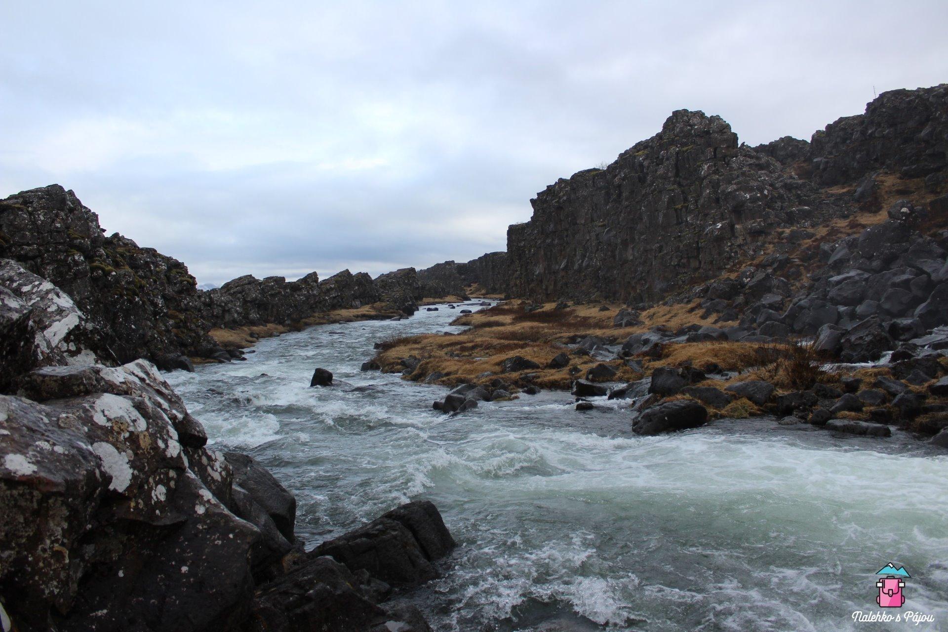 Řeka v národním parku